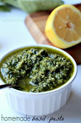 Homemade Basil Pesto_6