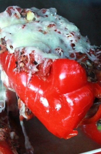 Southwestern Turkey Stuffed Peppers