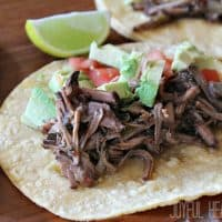 Slow Cooker Chipotle Beef Barbacoa