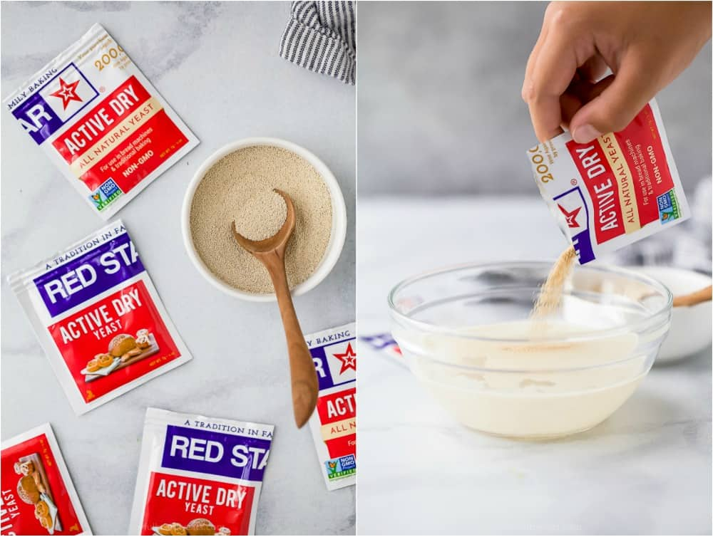 process of how to make whole wheat pizza dough