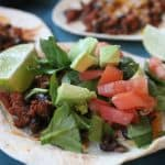 Image of Easy Ground Turkey Tostadas Recipe