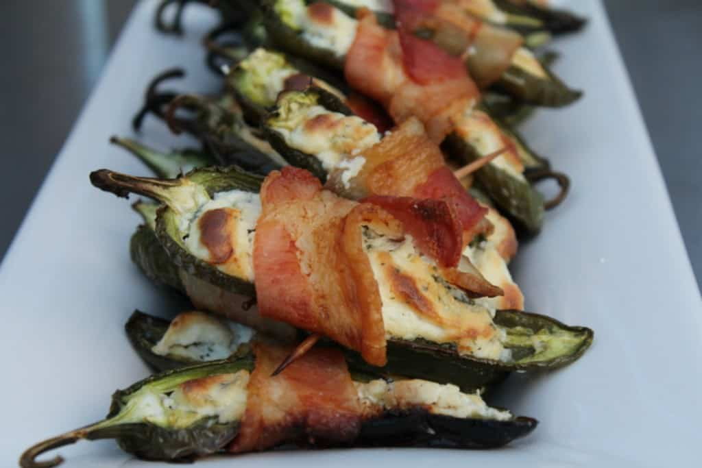 Stuffed Jalapeños on the Grill
