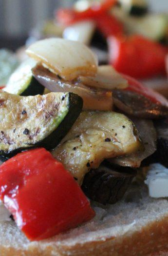 panini veggies