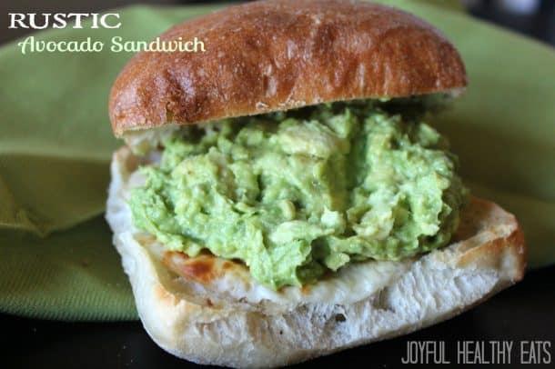 Image of Rustic Avocado Sandwich