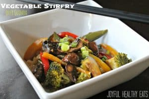 Image of Vegetable Stirfry over Quinoa