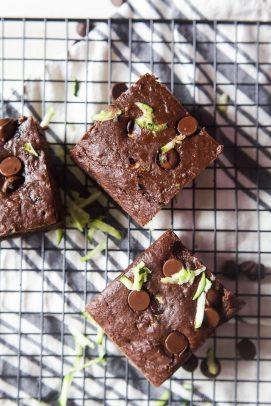 Zucchini Chocolate Chip Brownie Recipe - web-8