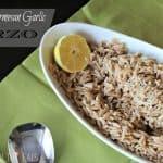 Lemon Parmesan Garlic Orzo