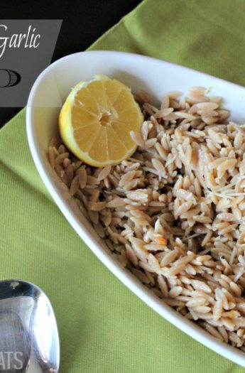 Image of Lemon Parmesan Garlic Orzo