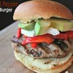 roastedpepperturkeyburger