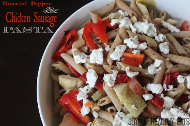 Image of Roasted Pepper & Chicken Sausage Pasta