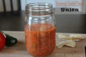 Easy Homemade Roasted Tomato Salsa | Best Fresh Salsa Recipe
