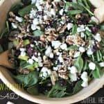 Summer Pear & Walnut Salad