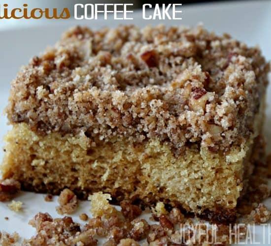 Delicious Coffee Cake