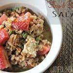 Farro & Strawberry Salad 7