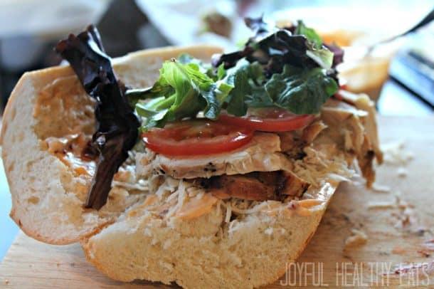 Grilled Chicken Sandwich 6