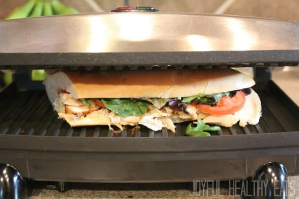 Grilled Chicken Sandwich #paninirecipes #chickensandwiches