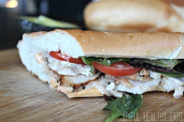 Grilled Chicken Sandwich 9