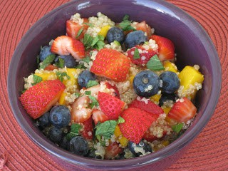 Quinoa Fruit Salad