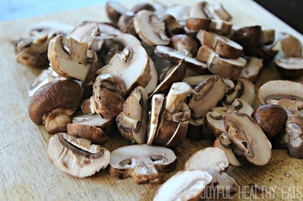 Mushroom & Cheese Frittata 1