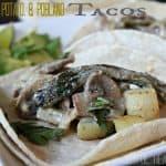 Mushroom, Potato, & Poblano Tacos