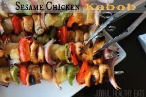 Sesame Chicken Kabobs Image