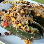 Image of Stuffed Poblano Peppers