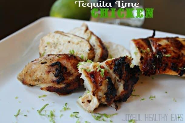 Tequila Lime Chicken #healthychickenrecipes #cincodemayo