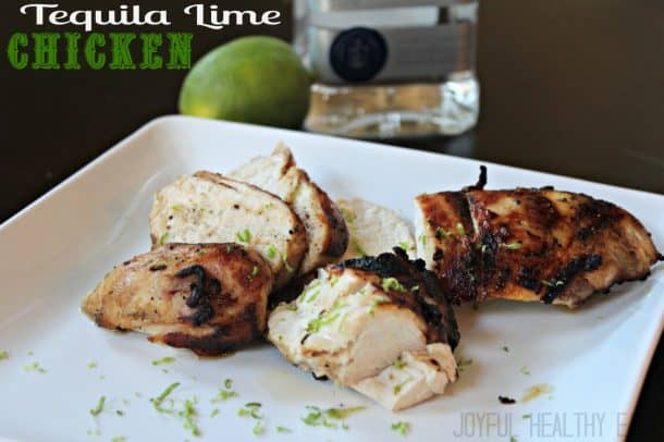 Tequila Lime Chicken #healthychickenrecipes #cincodemayo