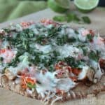 Thai Chicken Pizza Image