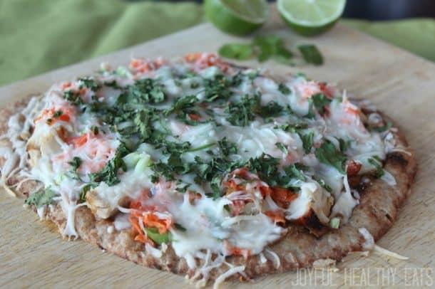 Thai Chicken Pizza 6