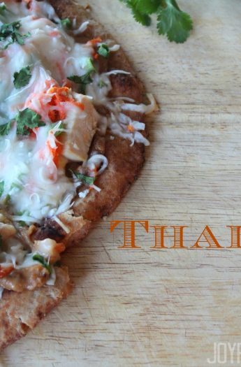 Thai Chicken Pizza #thairecipes