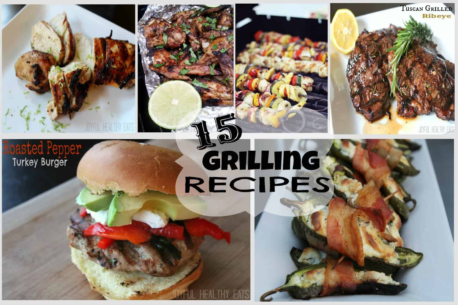 15 Grilling Recipes #grillingrecipes #4thofJuly