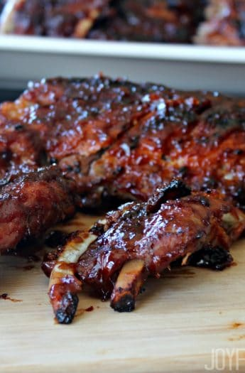 BBQ Baby Back Ribs #bbqrecipes #grillrecipes