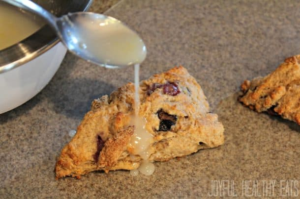 Blueberry Lemon Scones 12