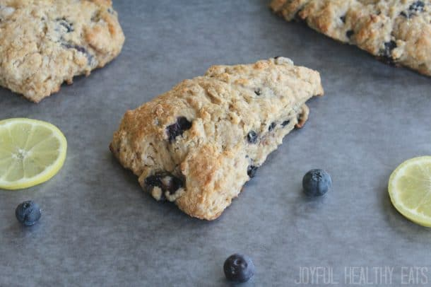 Blueberry Lemon Scones 13