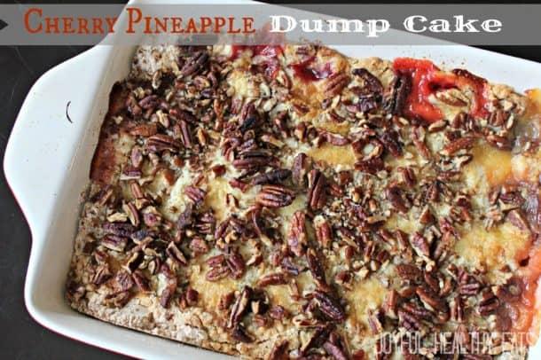 Cherry Pineapple Dump Cake #cherryjubilee