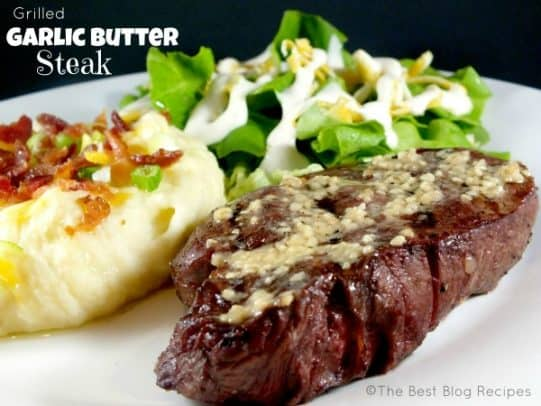 Grilled-Garlic-Butter-Steak-recipe-from-The-Best-Blog-Recipes