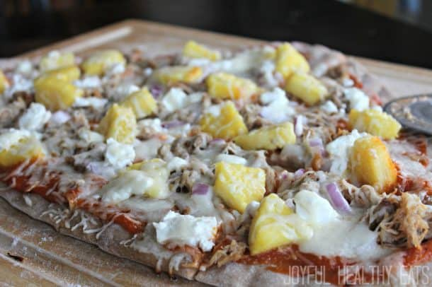 Hawaiian Pizza on the Grill 15