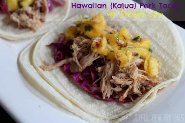 Title Image for Hawaiian Pork Tacos with Pineapple Salsa