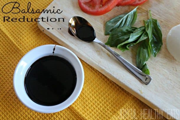 How to make the most delicious Homemade Balsamic Reduction in 20 minutes using 1 ingredient!