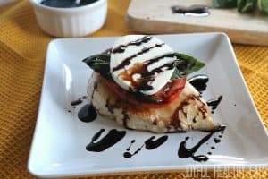 Image of Caprese Chicken with Balsamic Reduction