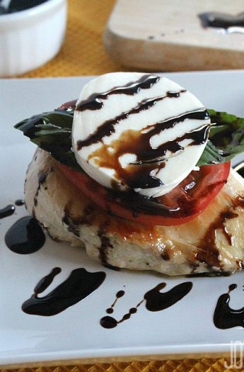 Caprese Chicken #caprese #chickenrecipes #maindish
