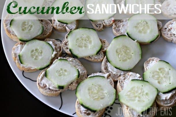 Cucumber Sandwiches 8