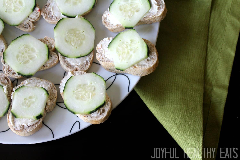 Cucumber Sandwiches #easyappetizers #cucumber