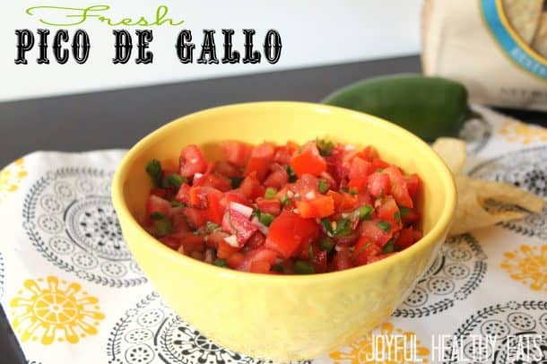 Pico de Gallo #freshsalsa #picodegallorecipes
