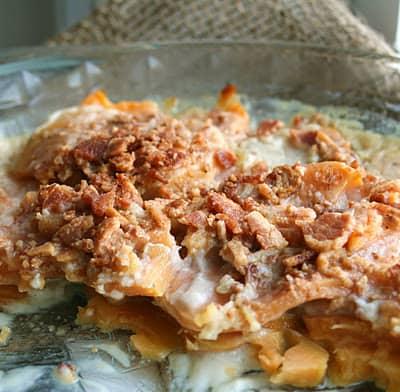 Scalloped Sweet Potato