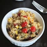 Southwest Quinoa Salad with Honey Lime Vinaigrette