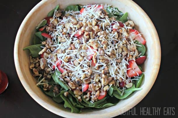 Strawberry Spinach Salad 6
