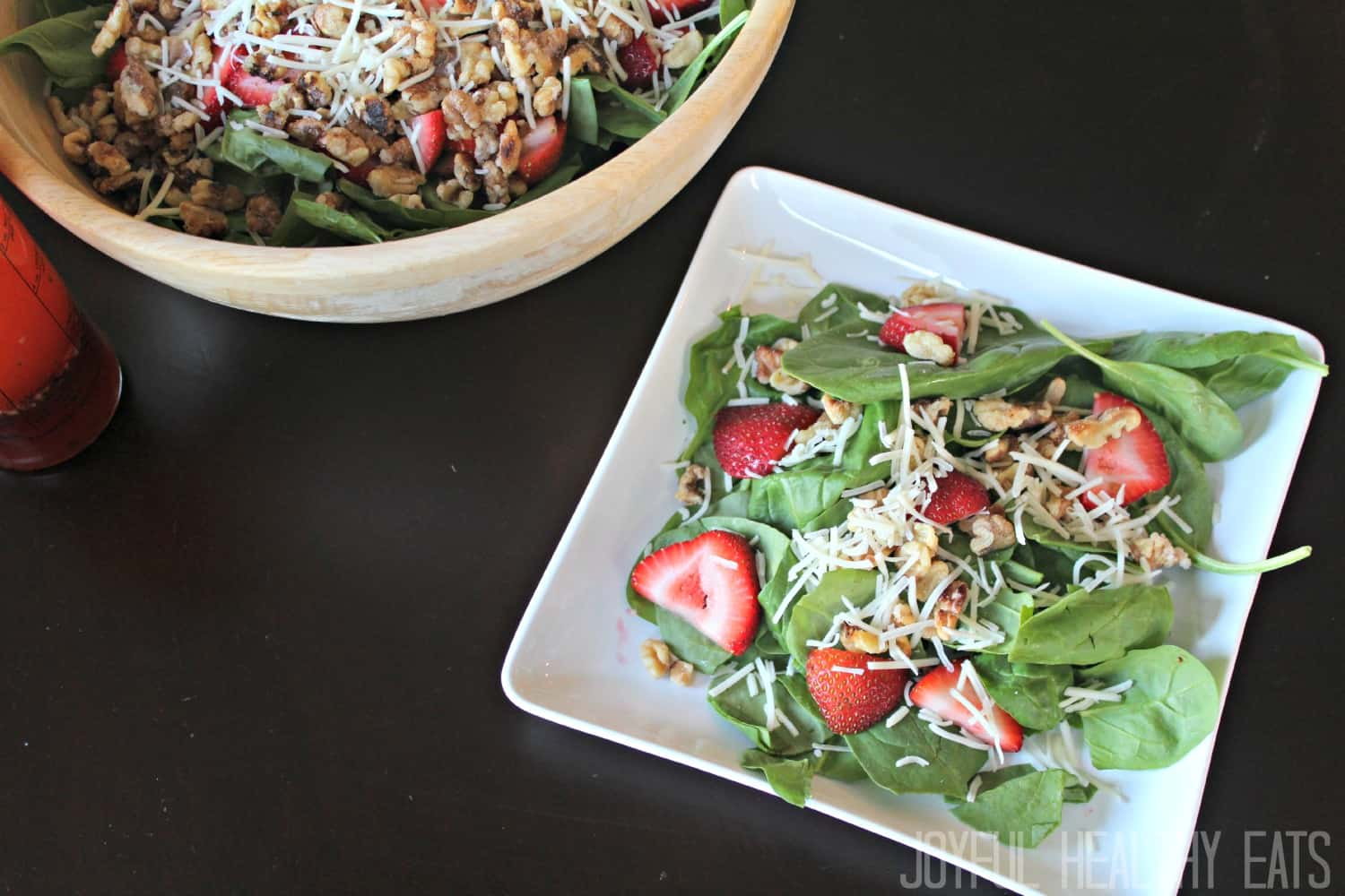 Strawberry Spinach Salad - Light Salad Recipe