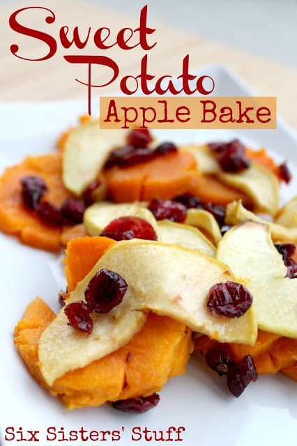 Sweet Potato Apple Bake with Title Image